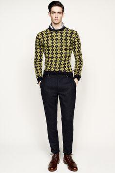 J.Crew men's fall/winter '14 collection. I could see B or Craig wearing this ;)