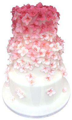 pretty pink cake