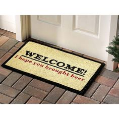 weekend doormat