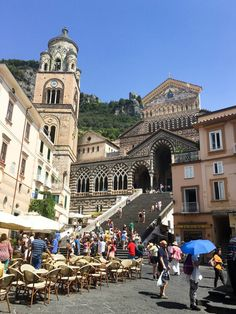 Cathedral in Amalfi Town, Italy