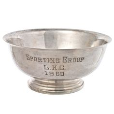 1960 Gorham Dog Show Trophy, $143, now featured on Fab.