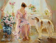 On Earth, there is no more beautiful than you ... Artist Konstantin Razumov (Konstantin Razumov). Discussion on LiveInternet - Russian Service Online diary