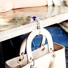πολύχρωμο κρύσταλλο πτυσσόμενα τσάντα άγκιστρο κρεμάστρας (1 τεμάχιο τυχαία χρώμα) – EUR € 4.77