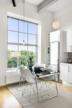 Jurnal de design interior - Amenajări interioare : Amenajare scandinavă într-un loft de 49 m²