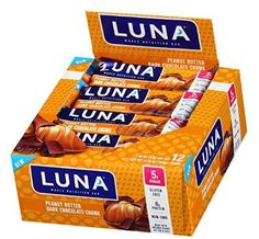 LUNA+BAR+-+Gluten+Free+Bar+-+Peanut+Butter+Dark+Chocolate+Chunk+-+(1.48+Ounce+Snack+Bar,+12+Count)+$6.48+Shipped