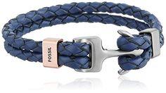 Fossil Anchor Wrap Bracelet