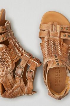 4f035519e83 American Eagle Outfitters AEO Bed Stu Claire Sandals Styles Urbains