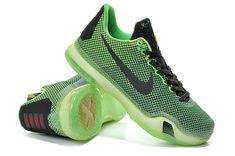 separation shoes 068d7 49e31 Big Boys Kobe 10 Vino Poison Green Sequoia Volt 705317 333 Kobe Shoes, Air  Jordan