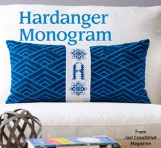 Hardanger Monogram from the Jul/Aug 2015 issue of Just CrossStitch Magazine. Order a digital copy here: https://www.anniescatalog.com/detail.html?prod_id=125655