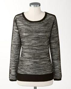 Twilight stripe pullover