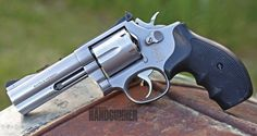 The Best Revolver Ever Made? How about the S&W L-Frame 686? | Click to read more now: http://americanhandgunner.com/dave-wishy-washy/ | #smithandwesson #lframe #revolver #wheelgun #americanhandgunner