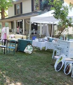 The Vintage Farmhouse Yard Sale