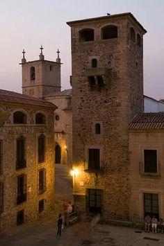 Palacio de los Golfines, Cáceres, España.#spain