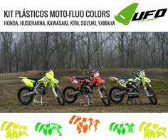 UFO PLAST   KIT's PLÁSTICO FLUO Vá a um agente perto de si! Cuide da sua moto. #lusomotos #ufoplast #ufo #kitdeplásticos #KTM #Kawasaki #Suzuki #fluo #estilodevida #andardemoto #proteção #Husqvarna #Yamaha #Honda