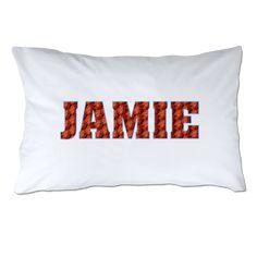 Personalized basketball pillowcase!