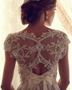 / #lace #wedding dress