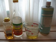 Another DIY facial cleanser