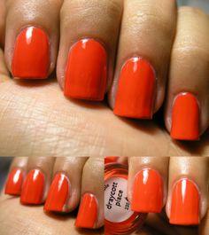 2 coats Nails Inc Description: Rich burnt orange nail. Orange Nails, Nails Inc, Nail Polish, Places, Orange Nail, Nail Polishes, Polish, Manicure, Lugares