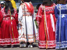 Womens Choctaw regalia