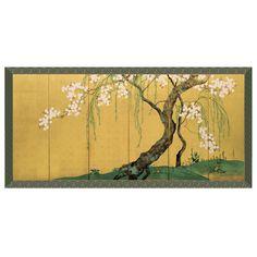 Edo Willow and Cherry Panel - The Met Store