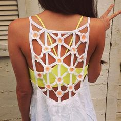would look good over a bathing suit for pool party/beach party as a cover up
