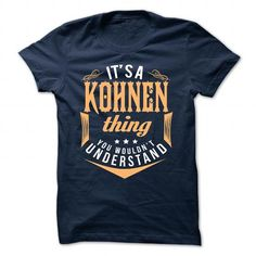 Last chance of KOHNEN to have KOHNEN T-shirts - Coupon 10% Off