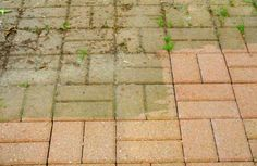 Homemade Deck Cleaner Recipes to Keep Your Space Sparkling - Gardenerdy Ground Level Deck, How To Level Ground, Anti Mousse Terrasse, Cleaning Pavers, How To Clean Stone, Deck Cleaner, Green Terrace, Diy Cleaners, Green Cleaning