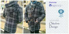 Giaccone ragazzo - boy jacket  ottobre design