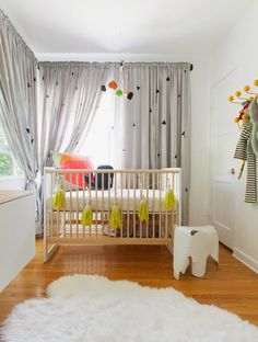 Pokoje pro děti, miminka, mateřství a rodiče: Bílý pokoj pro miminko