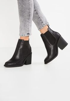 New Look Wide Fit BEATIT - Korte laarzen - black - meta.domain