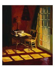 "PAM INGALLS -  ""Lael's Desk"""