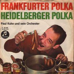 "Paul Kuhn and his Orchestra ""Frankfurter Polka"" b/w ""Heidelberger Polka"" Columbia Records (Germany)"