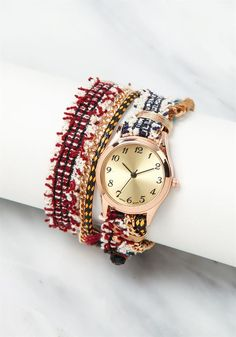 Plus Size Clothing | Wrap Around Crochet Chain Watch | Debshops