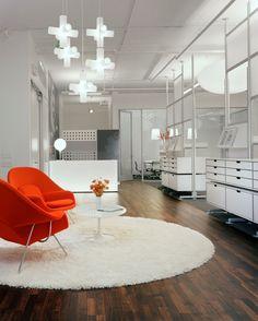 LOVE the orange and white.