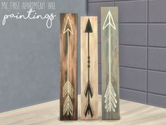 I liked these paintings when I saw them, and I wanted them for my sims Found in TSR Category 'Sims 4 Clutter'