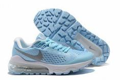 b2f8d98bfa35 Excitement Nike Air VaporMax Flyknit Cambridge Blue Silver White 859666 011 Womens  Running Shoes Trainers