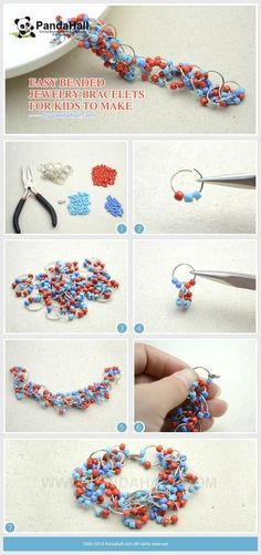 Jewelry Making Tutorial--DIY Easy Beaded Bracelets for Kids | PandaHall Beads Jewelry Blog