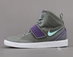 Nike NSW Sky Stepper   Mercury Grey   Green Glow   Court Purple