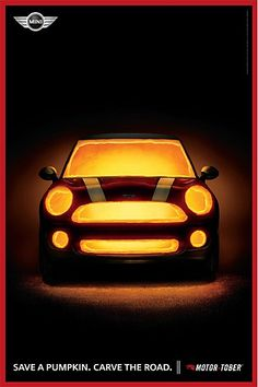 MINI Motortober posters Motortober is a month long MINI dealer promotion that takes place in October. Sausalito, California-based Butler, Shine, Stern & Partners decided that the best way to celebrate the season was with Halloween-inspired imagery.
