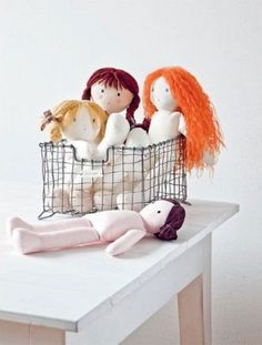 Craftdrawer Crafts: How to Sew a Super Cute Rag Doll Sewing Pattern