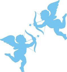 трафареты ангелочков - Самое интересное в