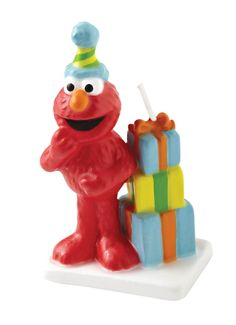 Elmo Birthday Candle | 1 ct