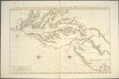 Carte particuliere de Virginie, Maryland, Pennsilvanie, la Nouvelle Iarsey orient et occidentale. ([ 1693-1710?])