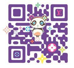 Designer QR Codes: Louis Vuitton Takashi Murakami Make QR Codes Fashionable Takashi Murakami, Web Design Agency, Branding Design, Make Qr Code, Louis Vuitton Murakami, Graffiti, Superflat, Code Art, Illustrations