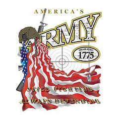 America's Army Still Fighting Always Defending by Mychristianshirts on Etsy