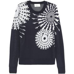 3.1 Phillip Lim Snowflake-intarsia knitted sweater - Polyvore