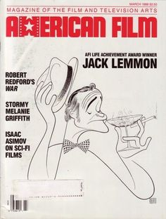 American Film 1988 Jack Lemmon Robert Redford Asimov Sci-Fi Soviet