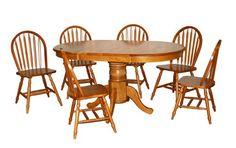 Target Marketing Systems 7 Piece Farmhouse Dining Set, Oak $509.99