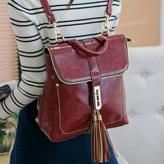Tasseled Backpack from #YesStyle <3 Youshine YesStyle.com