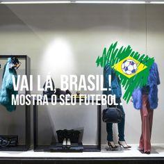 Vai lá Brasil, mostra o seu Futebol